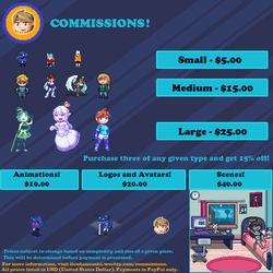 Pixel Commissions! by Damenshi
