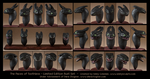 The Faces of Toothless - Limited Edition Bust Set by emilySculpts