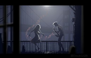 (71) Music in the night. by Omario2d