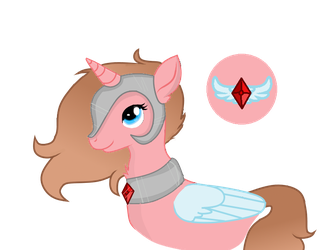 Princess Ruby Art Trade by FlakyPorcupine1989