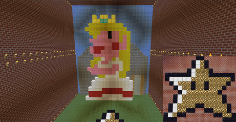 Peach Minecraft by supergrat