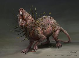 Swamp Rat by JowieLimArt