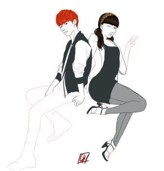 VIXX N+Nmi (Unfinished Business) by gabeheartart