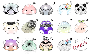 Blob Adopts -15 POINTS EACH- (8/15 OPEN) by PecheAmere