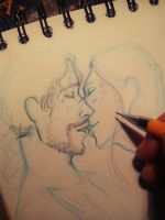 The Fool and fitz_45_ WIP by MartAiConan