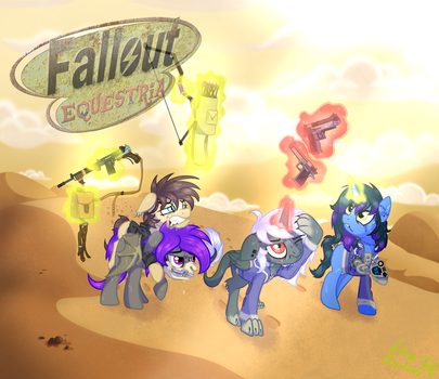 Fallout Equestria: Friendship and bullets [C] by LimeOvertime