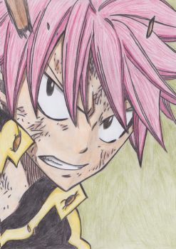 ***Fight the Tartarus*** / Natsu by CrystalMelody-FT