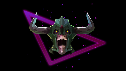 Undying Dota 2 Low Poly Art by giftmones