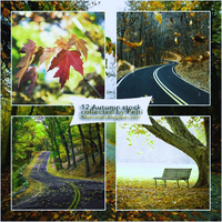 (1) Stock Pack - Autumn by CatchMeBabyy