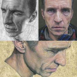 Three paintings of Carl. by caldwellart