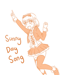 Sunny Day Song Chika by LunarisFuryAileron