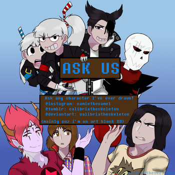 Ask Us (Character Addition!) by Calibriatheskeleton