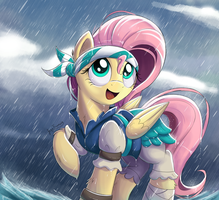 Pirate Fluttershy by Bugplayer