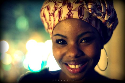 African Smile by alahay