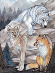 Forest Watchmen by Gray-Ghost-Creations