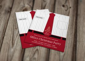 Office Christmas Party Invitations by es32