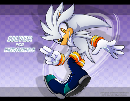 Collab:Silver the hedgehog by Extra-Fenix