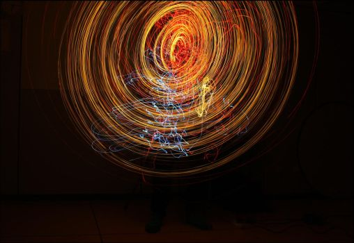 Lightpainting by CocoNocotoco
