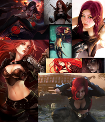 Katarina Collage by AlwaysHunted