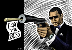 Bad Boy - Barack Obama by BenHeine