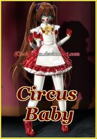 FNAF SL Circus Baby (Updated) by White-Hu