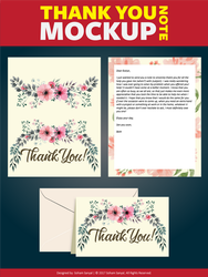 Thank You Note Vol I by ANNGEINROGER