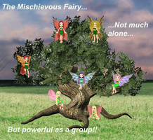 Mischievous Fairies Fairy Tale by DyanaRoseJill