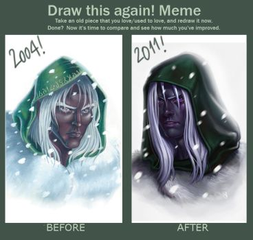 DRAW THIS AGAIN MEME by SaraForlenza
