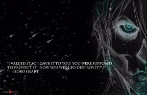 Hobo Heart Creepypasta Wallpaper by ChrisOzFulton