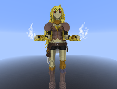 RWBY Yang in Minecraft by 8bloodpetals