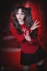 Fate Stay Night - Rin Tohsaka II by Calssara