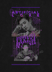 Artificial Love + Park Chanyeol {110417} by RoxyNeonColors