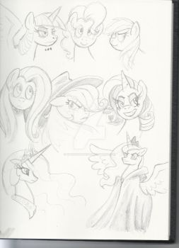 MLP Sketches