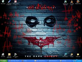 Why So Serious? Wallpaper by BlaqkElectric