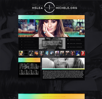 Layout Lea Michele by demismile