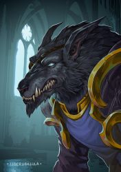 October Giveaway - The Worgen by LiberLibelula