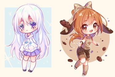 [+Video] Commission - Snow and Cookies by Hyanna-Natsu