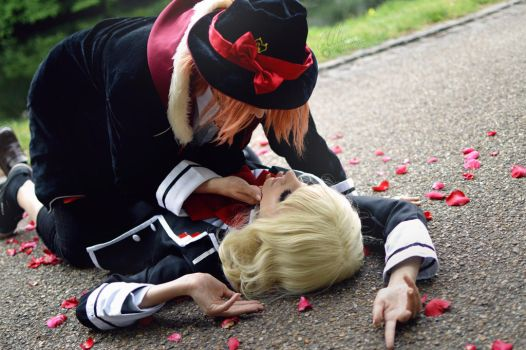 Diabolik Lovers:LaitoxYui by AlluGraphie