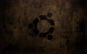 Ubuntu Grunge wallpaper by solancer-com