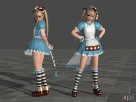 DOA5 Marie Rose Costume 28 Halloween 2015 by rolance
