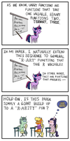 How Twilight Sparkle Lost Her Math License by KopaLeo