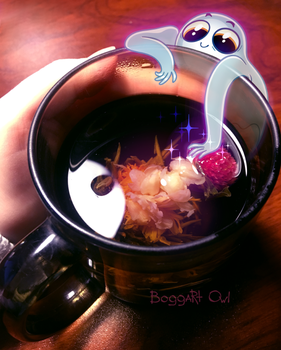 Magic tea by BoggartOwl