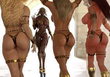The Warriors Of Beauty 2 By Akizz by Cityhunter77