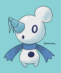 Snowmon (fakemon) by Charenel