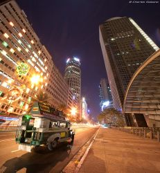 Jeepney in the Big City by Gaisano