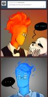 ask the bonfire: flaming hot hairstyles by Fel-Fisk
