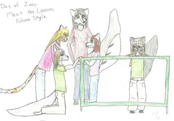 Day of Zoey 78 - Meet the Cousins - Falcona Style by ZoieFalcona