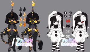 NUES| (Late) Halloween OTA (CLOSED) by multiple-wounds