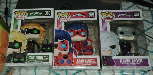 Miraculous Funko Pops In Box by Bowser14456