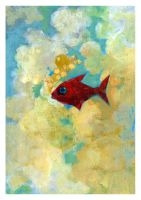 Tribute to 'little fish' - 65 by Adillo